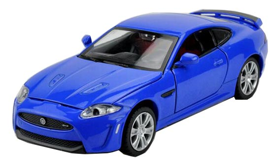 1:32 Blue / Red / Silver / White Kids Diecast Jaguar XKR-S Toy