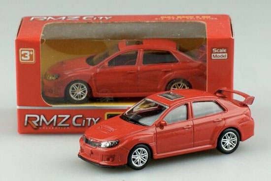 Kids 1:64 Scale Kids Blue / Red Diecast Subaru WRX STI Toy