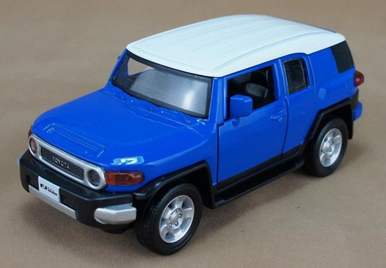 Red / Yellow / Black / Blue 1:32 Diecast Toyota FJ Cruiser Toy