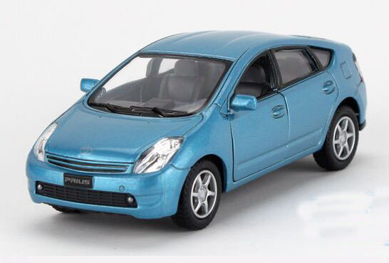 Red / Silver / Blue / Champagne Kids Diecast Toyota Prius Toy