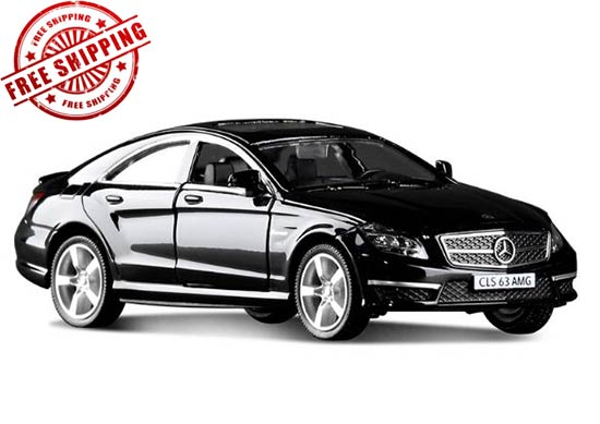 Silver /White /Black /Blue Diecast Mercedes-Benz CLS 63 AMG Toy