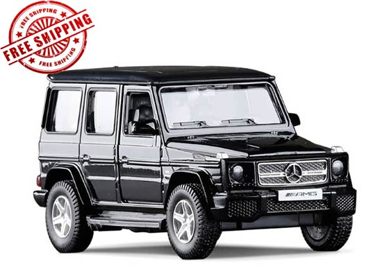 Silver / Gray / White / Black Diecast Mercedes-Benz G63 AMG Toy