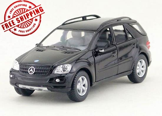Black / Silver /Red / Champagne Diecast Mercedes-Benz ML350 Toy