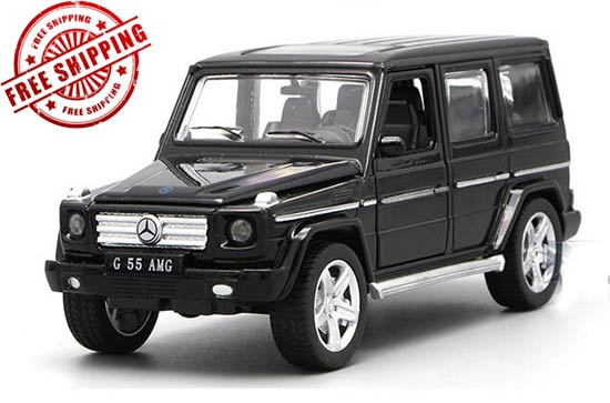 1:32 Red / White / Black Diecast Mercedes-Benz G55 AMG Toy