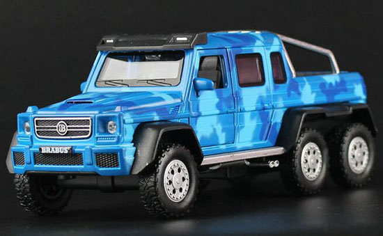 Green / Blue /Yellow 1:32 Scale Diecast Brabus Pickup Truck Toy