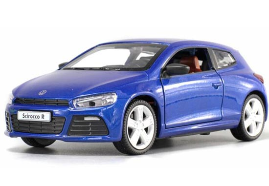 Green / Red / Blue Kids 1:32 Diecast VW Scirocco R Toy