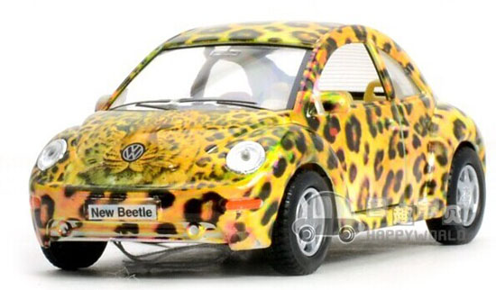 1:32 Kids Red /Black / Yellow / White Diecast VW New Beetle Toy