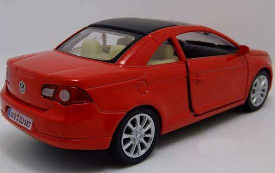 Kids Silver Yellow Blue Red 1 34 Diecast Vw Eos Toy