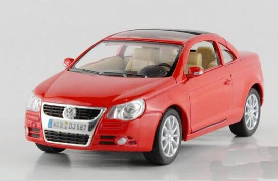 Kids Silver / Yellow / Blue / Red 1:34 Diecast VW EOS Toy