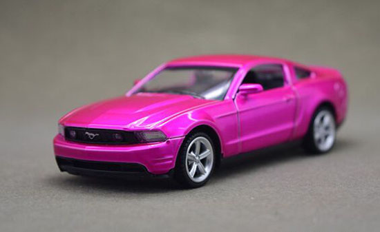 Kids Blue / Pink 1:43 Diecast Ford Mustang GT Toy