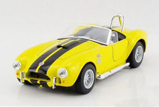 Yellow / Red / White / Blue 1:36 Diecast 1965 Ford Shelby Cobra