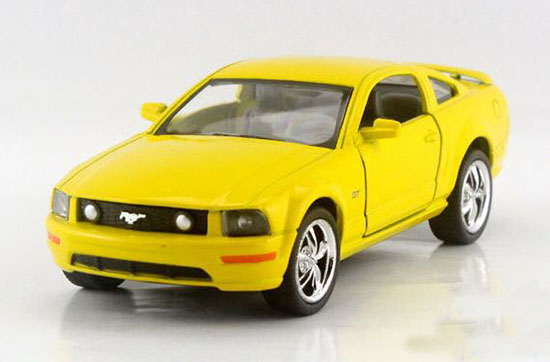 Blue /Red /Yellow /Green 1:36 Kids Diecast Ford Mustang GT Toy