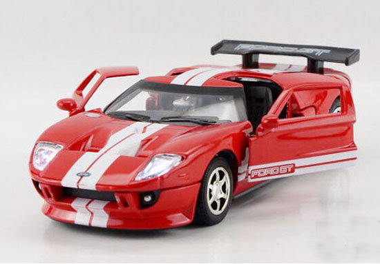 kids red white yellow gray diecast ford gt sports car toy nm02b267 ezmotortoys com. Black Bedroom Furniture Sets. Home Design Ideas