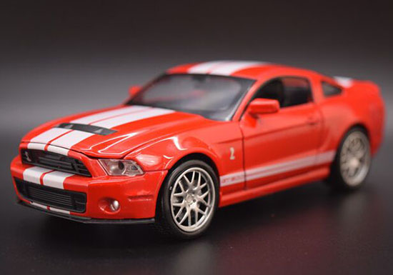 Red / White / Green / Blue 1:32 Diecast Ford Shelby GT500 Toy