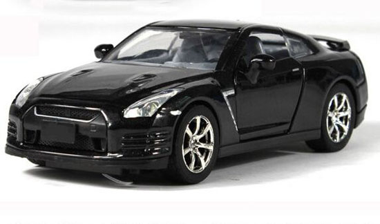 Red / Black / Yellow Kids 1:32 Diecast Nissan GT-R Toy