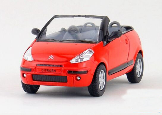 Red / Black / Orange / Green 1:36 Kids Diecast Citroen Car Toy