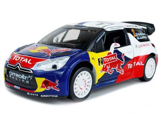 Kids 1:26 Scale 2013 WRC Monte Carlo Diecast Citroen DS3 Toy