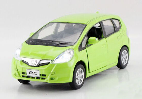Blue / Green / Red / Yellow 1:36 Kids Diecast Honda Fit Toy