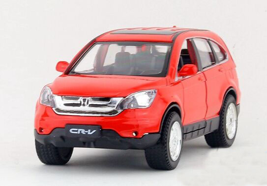 Kids 1:32 Scale Seven Colors Diecast Honda CR-V Toy