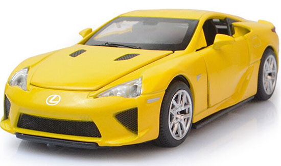 Red / Yellow / Pink / Black 1:32 Kids Diecast Lexus LFA Toy