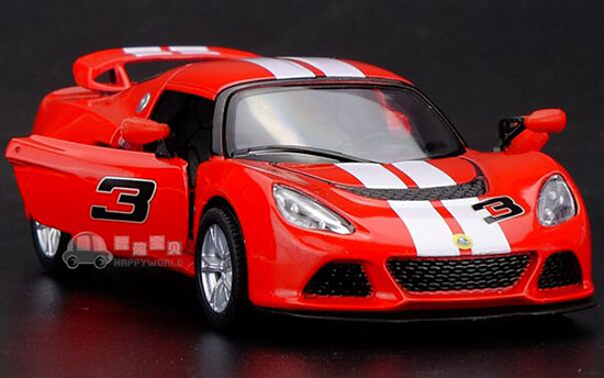 Red / Yellow / Black /White 1:36 Kids Diecast Lotus Exige S Toy