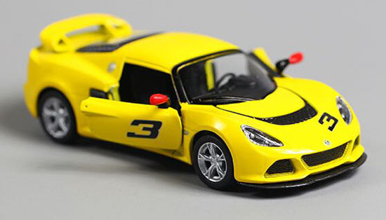 Kids 1:36 Red /Yellow / Black / White Diecast Lotus Exige S Toy