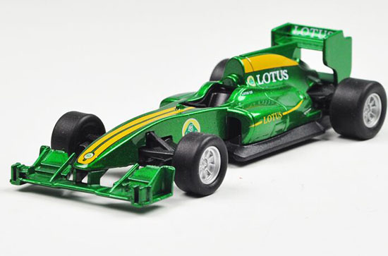 Kids 1:36 Black / Green Welly Diecast Lotus T125 Toy