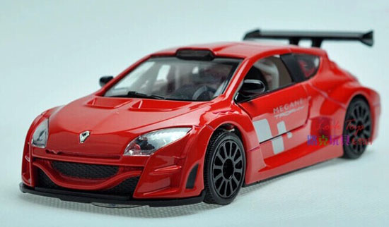 Yellow / Red /White / Blue Kids 1:32 Diecast Renault Megane Toy