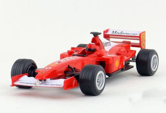 Kids 1:24 Scale Blue / Red Diecast Ferrari F1 Toy