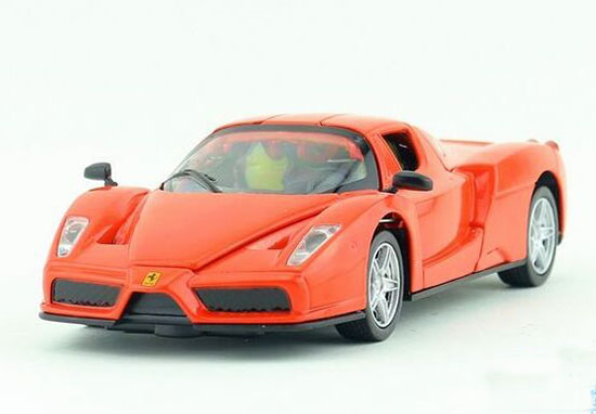 Golden / Red / Green Kids 1:32 Diecast Ferrari Enzo Toy