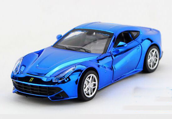 Kids 1:32 Golden /Blue /Purple / Silver Diecast Ferrari F12 Toy