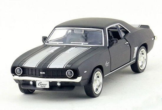 Black Kids 1:36 Scale Diecast Chevrolet Camaro SS Toy