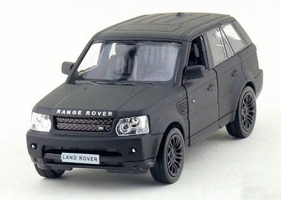 1:36 Kids Black Diecast Land Rover Range Rover Toy