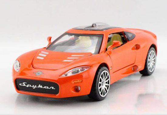 White /Red / Orange /Black / Green 1:32 Kids Diecast Spyker Toy