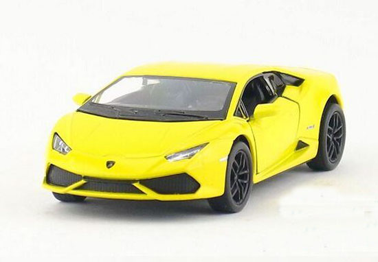 Orange /Green /White /Yellow 1:36 Diecast Lamborghini Huracan