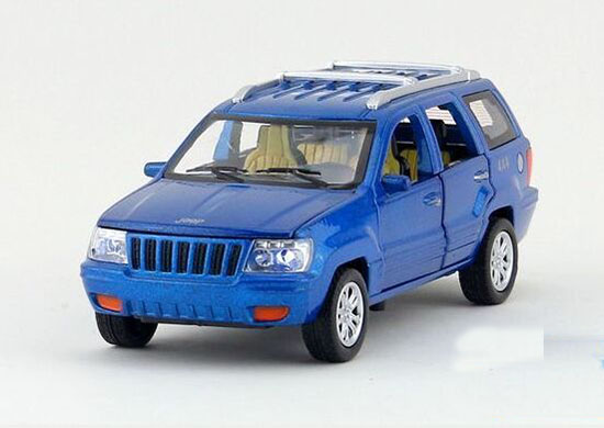 Blue /Green /Red /White 1:32 Kid Diecast Jeep Grand Cherokee Toy
