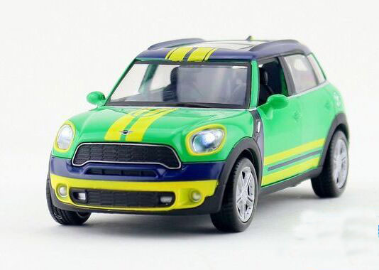 Green 1:32 Kids FIFA Diecast Mini Cooper Countryman Toy