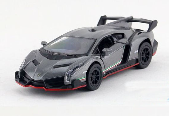Black / Orange /Gray / Wine Red 1:36 Diecast Lamborghini Veneno