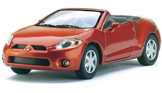 White /Red /Orange /Blue /Silver 1:36 Diecast Mitsubishi Eclipse