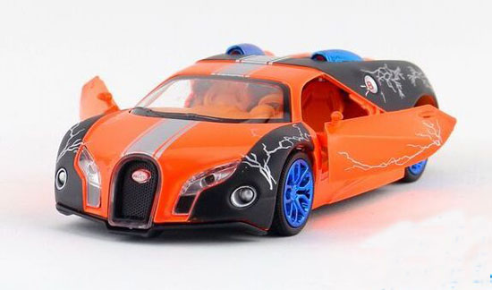 Kids 1:32 Purple / Green / Orange Diecast Bugatti GT Toy