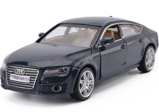 Kids 1:32 Red / Silver / Deep Blue Diecast Audi A7 Toy