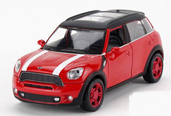 Yellow / Red / Blue / Brown 1:32 Diecast Mini Cooper Countryman