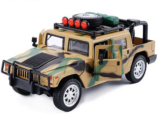 Kids Camouflage Color 1:32 Scale Diecast Hummer Toy