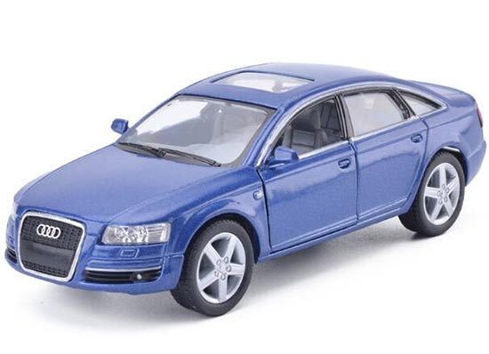 Black / Silver / Red / Blue 1:36 Kids Diecast Audi A6 Toy