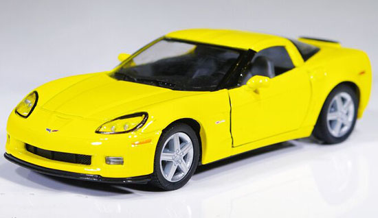 Red / Blue / Orange /Yellow 1:36 Diecast Chevrolet Corvette Z06