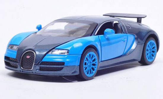 1:32 White / Red /Blue / Orange Kids Diecast Bugatti Veyron Toy