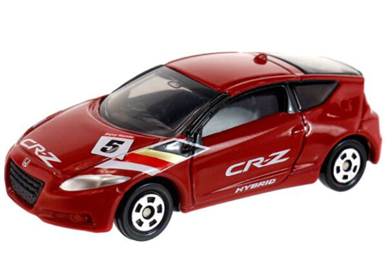 Kids 1:61 Mini Scale Red Diecast Honda CR-Z Toy