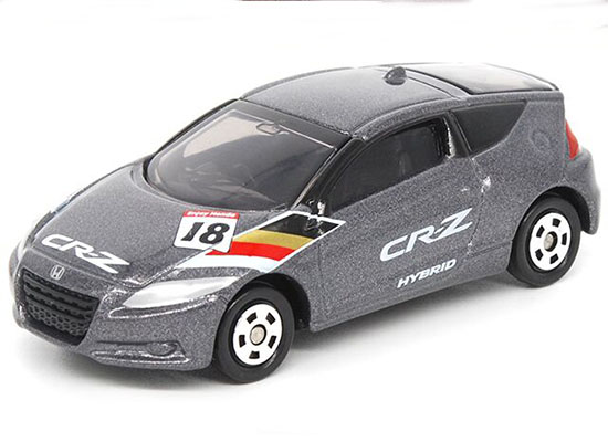 1:61 Mini Scale Gray Kids Diecast Honda CR-Z Toy