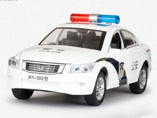 Kids 1:32 Scale Police Diecast Honda Accord Toy