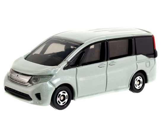 Kids 1:65 Mini Scale Silver Diecast Honda Step WGN Toy